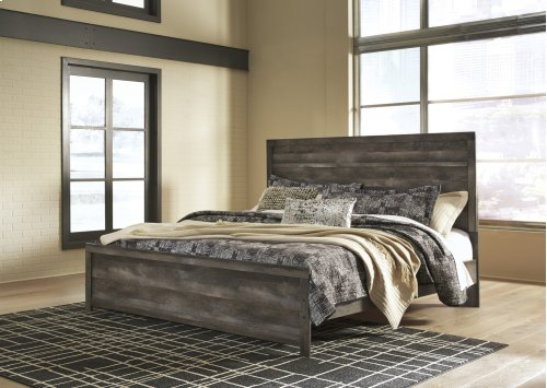 King Panel Headboard/Footboard