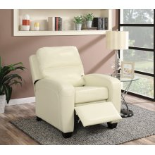 Yukon Ivory Push-Back Recliner Chair