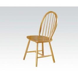 "36""h Oak Windsor Chair"