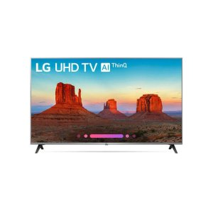 LG ElectronicsUK7700PUD 4K HDR Smart LED UHD TV w/ AI ThinQ® - 55'' Class (54.6'' Diag)