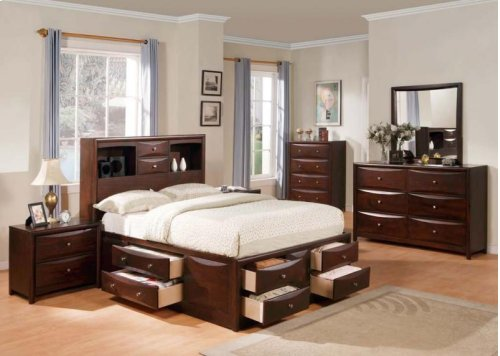 Kit - Espresso Twin Bed