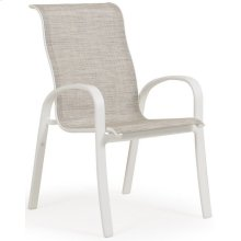 Sling Arm Dining Chair