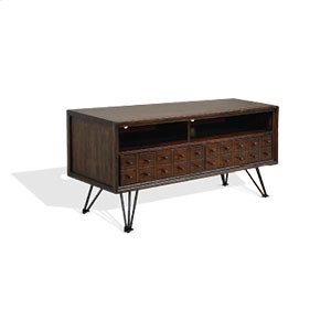 """Deep River Apothecary 54"""" Media Stand"""
