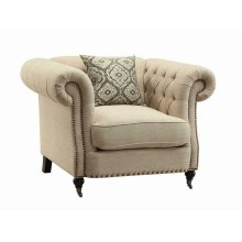 Trivellato Traditional Oatmeal Chair