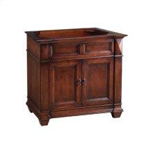 "Torino 36"" Bathroom Vanity Cabinet Base in Colonial Cherry"