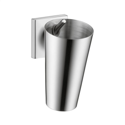 Chrome Toothbrush tumbler