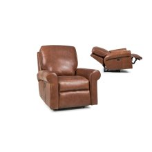 Leather Motorized Reclining Chair