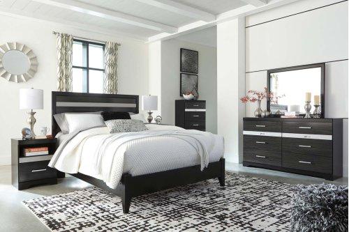 Starberry - Black 2 Piece Bed Set (Queen)