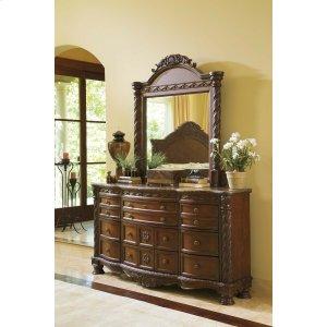 Ashley Furniture North Shore - Dark Brown 2 Piece Bedroom Set
