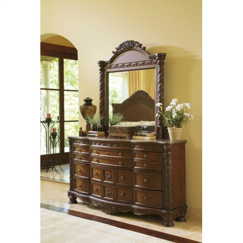 North Shore - Dark Brown 2 Piece Bedroom Set