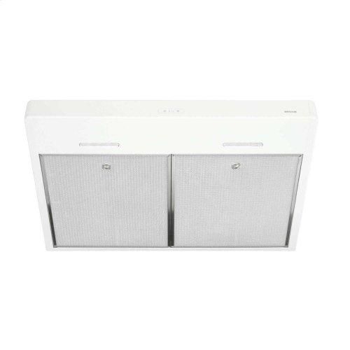 Tenaya 30-inch 300 CFM White Under-Cabinet Range Hood with LED light
