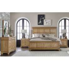 Ashby Woods Panel Bed, King 6/6