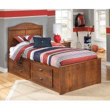 Barchan - Medium Brown 4 Piece Bed Set (Twin)