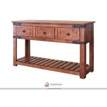 Sofa Table w/3 Drawers