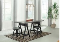 Minnona - Multi 3 Piece Dining Room Set Product Image