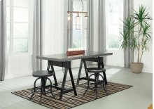 Minnona - Multi 3 Piece Dining Room Set