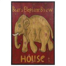 Wall Art Elephant House