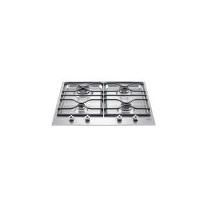 Bertazzoni24 Segmented Cooktop 4-Burner Stainless