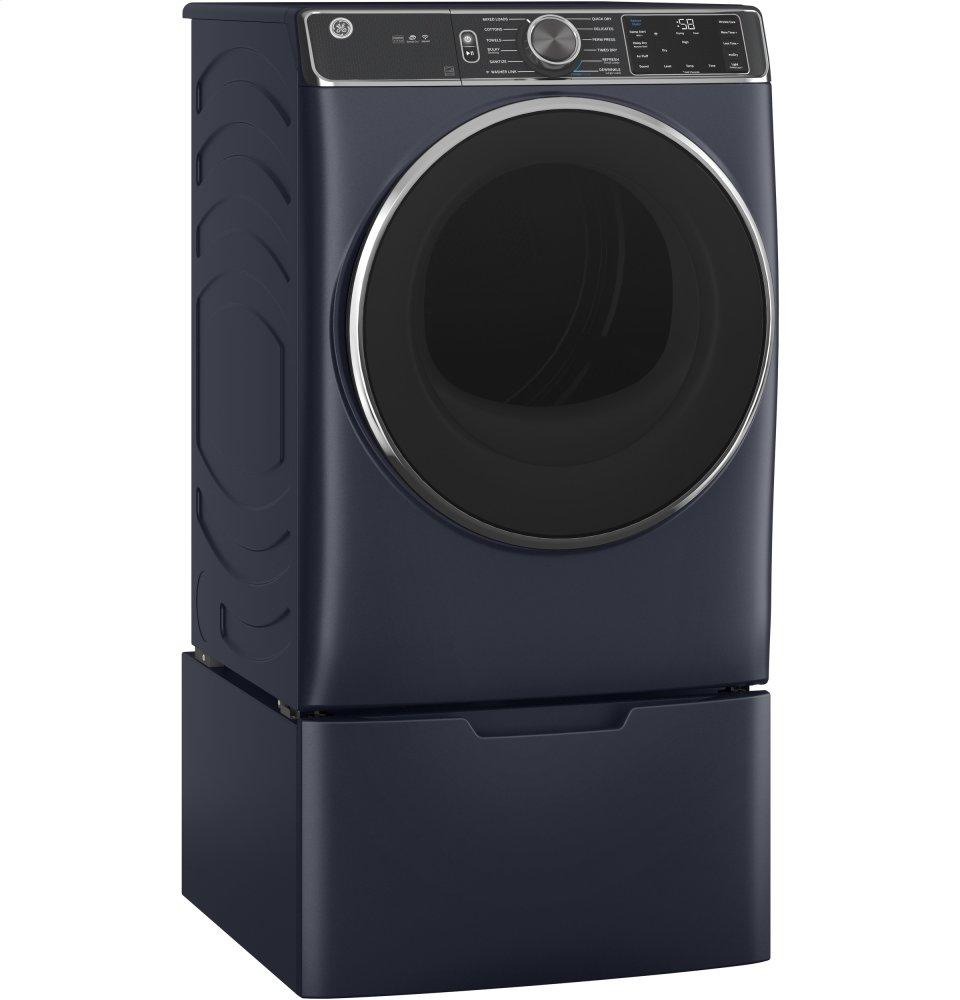 GE® 7.8 cu. ft. Capacity Smart Front Load Gas Dryer with Steam and Sanitize Cycle Photo #4