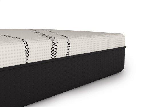 "Dr. Greene - 11.5"" Cool Graphite Foam Hybrid - Bed in a Box - Plush - Hybrid - Tight Top - Cal King"
