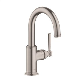 Stainless Steel Optic Single lever kitchen mixer 1.5 GPM