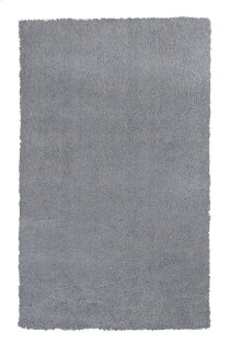 "Bliss 1557 Grey Shag 2'3"" X 7'6"" Runner"