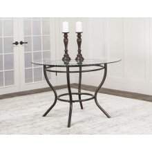 Holly-bronze Metal Table Base