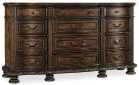 Bedroom Adagio Twelve Drawer Dresser