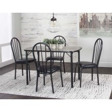 Panther (30x48) 5pc Dining Set