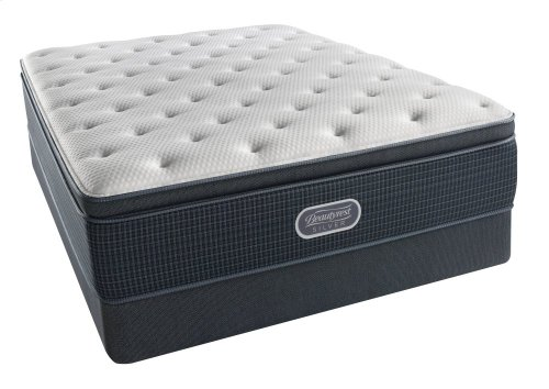 BeautyRest - Silver - Seaside - Pillow Top - Plush - Twin XL