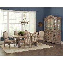Ilana Traditional Rectangular Formal Five-piece Dining Table Set