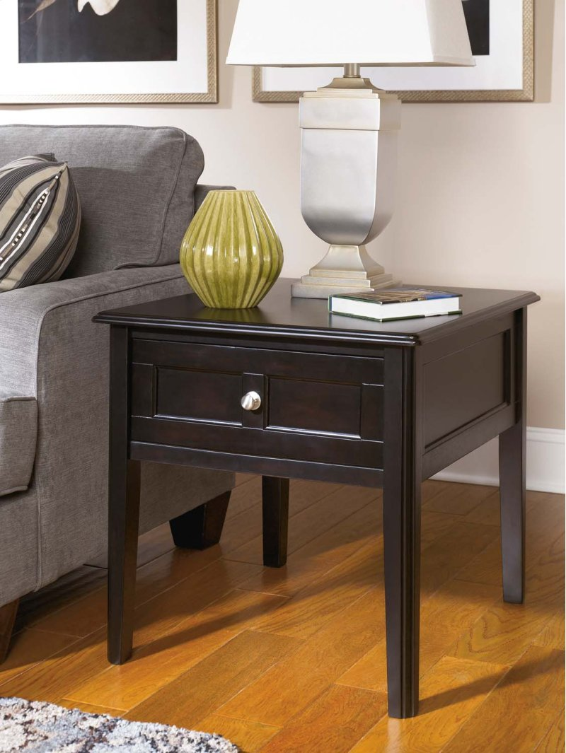 T4793 In By Ashley Furniture In Tulsa Ok Rectangular End Table