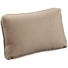 "Throw Pillows Knife Edge Kidney w/welt (12"" x 18"")"