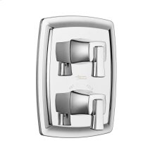 Townsend Two-Handle Thermostatic Valve Trim Kit - Polished Chrome