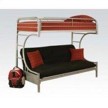 Silver T/f/futon Metal Bunkbed