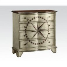 Ant. Gray Console Table Product Image