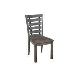 Dining Chair (2/Ctn) - Harbor Gray Finish