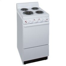 20 Inch Free Standing Electric Range