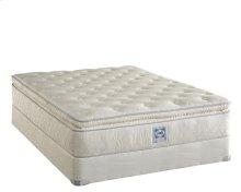Brand - 2010 - Level M - Plush - Euro Pillow Top - Queen