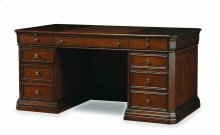 "Home Office Cherry Creek 66"" Executive Desk"