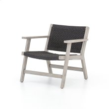 Chair Configuration Grey Cover Delano Chair + Ottoman