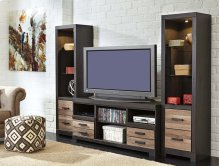 Harlinton - Two-tone 3 Piece Entertainment Set