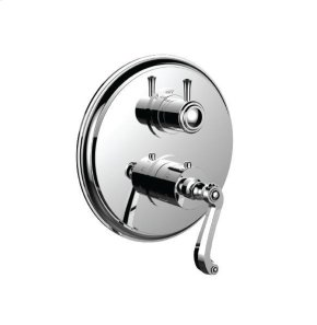 "1/2"" Thermostatic Trim With Volume Control and 3-way Diverter in Gunmetal Gray"