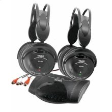Dual-channel Infrared FM Stereo Transmitter/Headphone Specification