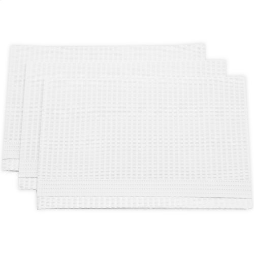 "Disposable 13"" x 19"" Pillow Squares, 100-Pack"