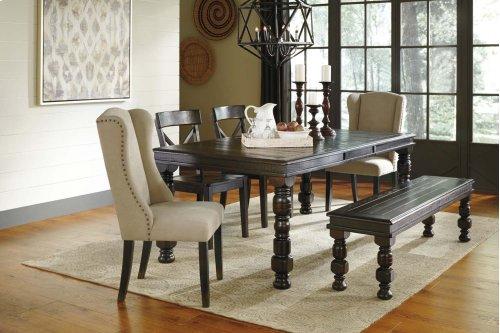 Gerlane - Dark Brown 6 Piece Dining Room Set