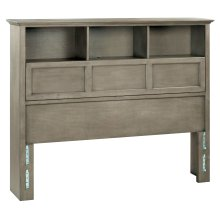 FST McKenzie Queen Bookcase Headboard