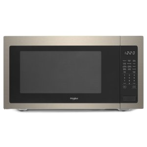 WHIRLPOOL2.2 cu. ft. Countertop Microwave with 1,200-Watt Cooking Power Fingerprint Resistant Sunset Bronze