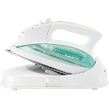 Cordless Steam/Dry Iron and Charging Base with Curved Stainless Steel Soleplate