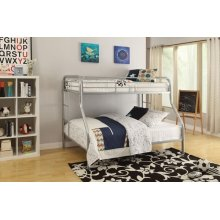 SILVER T/F BUNKBED